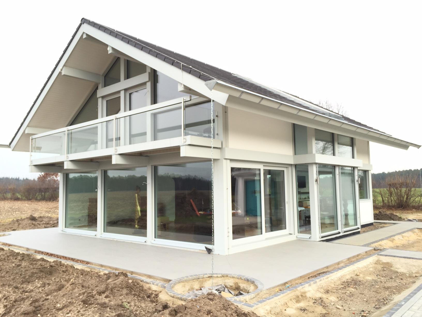 Neubauprojekt Modernes Fachwerkhaus In Steinhorst Kurth Haus